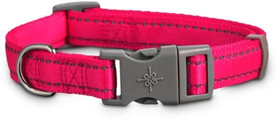 Petco Reflective Adjustable Padded Dog Collar, Pink, Large/X-Large Product image