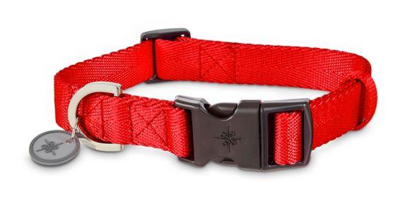 Collier réglable en nylon pour chien Petco, rouge, grand/très grand Image de l'article