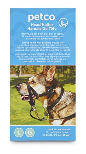 Petco Dog Head Halter, Large
