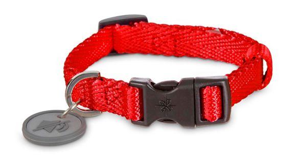 Petco Adjustable Nylon Dog Collar, Red, Small Product image