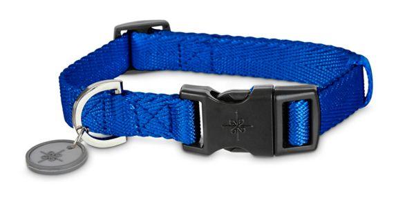 Petco Adjustable Nylon Dog Collar, Blue, Medium Product image