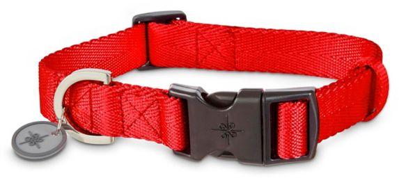 Petco Adjustable Nylon Dog Collar, Red, 2X-Large/3X-Large