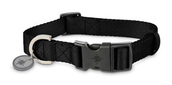 Collier ajustable en nylon pour chien Petco, noir, 2XL/3XL