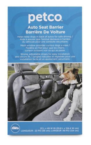 Petco Off Limits Car Seat Pet Barrier Product image