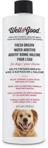 Additif haleine fraîche pour l'eau Well & Good, pour chiens Image de l'article