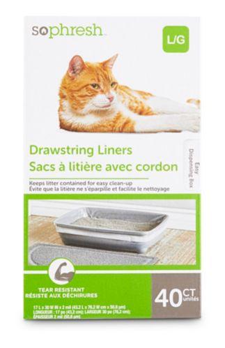 Doublure de litière pour chats Petco, très grand, paq. 40 Image de l'article