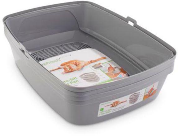 So Phresh Sifting Cat Litter Box, Grey Product image