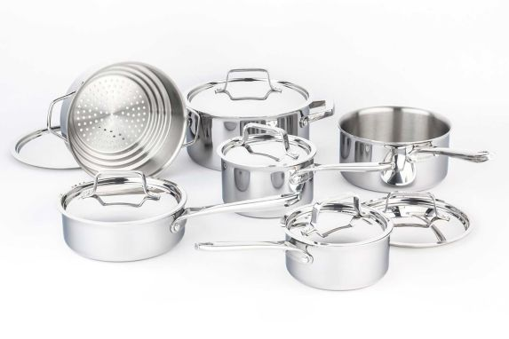 PADERNO Canadian Professional Clad Cookware Set, 12-pc Product image