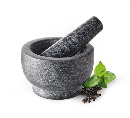 Mortier et pilon Lagostina, granite