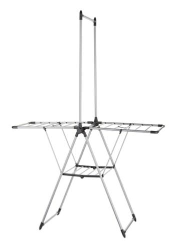 type A Drying Rack with Hanger Bar