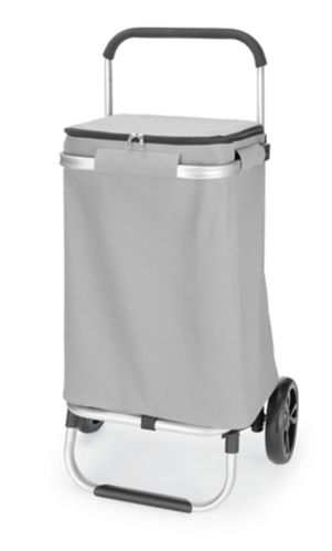 Chariot de magasinage en aluminium de type A, sac à glissière Image de l'article