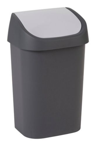 type A Swing Top Two-Tone Waste Bin, 25-L Product image