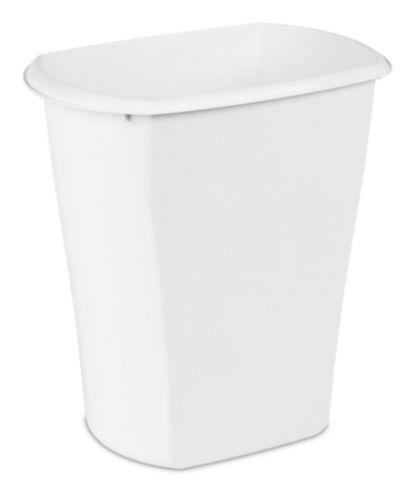 Sterilite Open Rectangular Wastebasket, 21-L