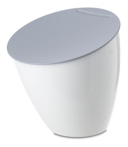 Bac à compost Countertop Kitchen, gris/blanc, 2,2 L Image de l'article
