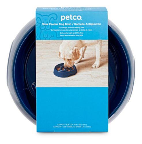 Bol ralentisseur pour chien Petco, plastique, grand Image de l'article