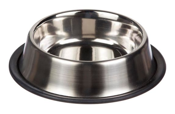 Petco Brushed Stainless Steel No-Tip Cat Bowl, 1-Cup Product image