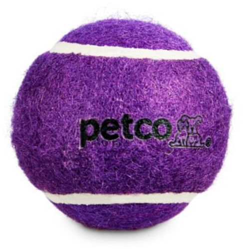 Petco Tennis Ball Dog Toy, Assorted, 2-in