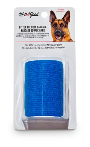 Well & Good Bitter Dog Bandage, 3-in