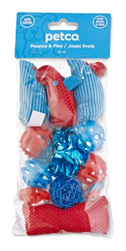 Petco Variety Pack Cat Toys, 12-pk Product image