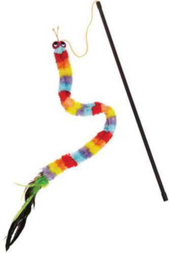 Petco Caterpillar Cat Teaser Toy, 33-in