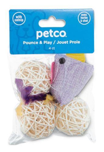 Petco Bird Cat Toy, 4-pk Product image
