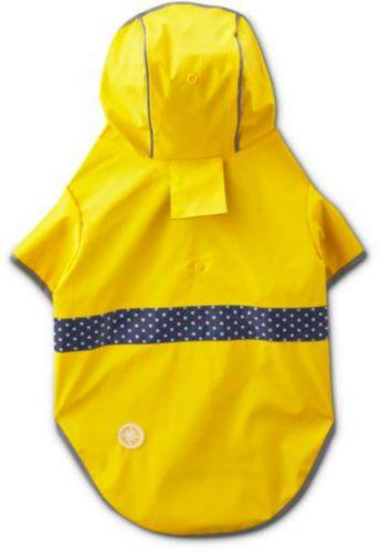 Petco Reversible Dog Raincoat, Yellow, Large Product image