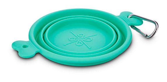 Petco Collapsible Silicone Pet Travel Bowl, 1-Cup Product image
