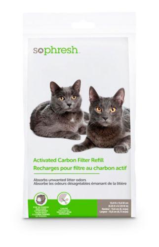 Filtre au charbon de rechange pour bac à litière pour chats So Phresh Image de l'article
