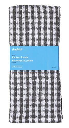 Simplicite Waffle Kitchen Towels, 4-pk