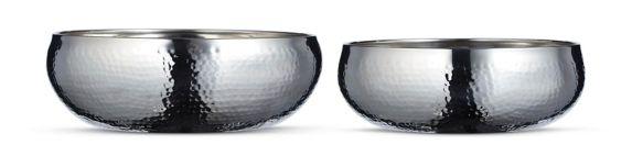 CANVAS Hammered Serving Bowl Set, 2-pc