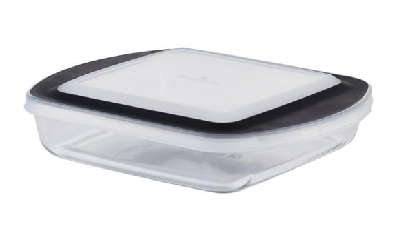 PADERNO Glass Square Baking Dish with Lid