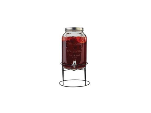 MASTER Chef Mason Jar Beverage Dispenser, 8-L