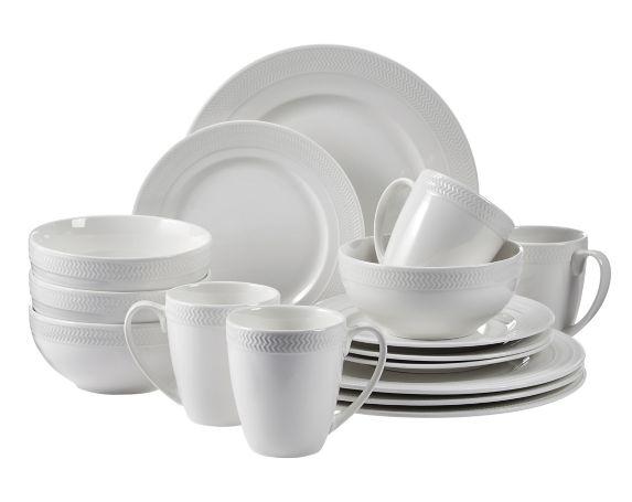 Service de vaisselle CANVAS Ellesmere, paq. 16