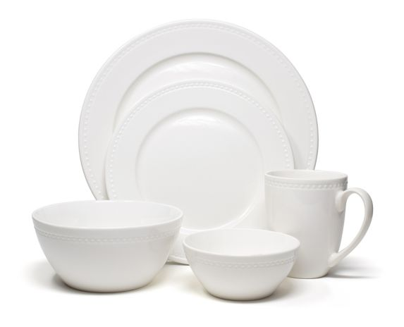 CANVAS Cordova Dinnerware Set with Fruit Bowl, 40-pc Product image
