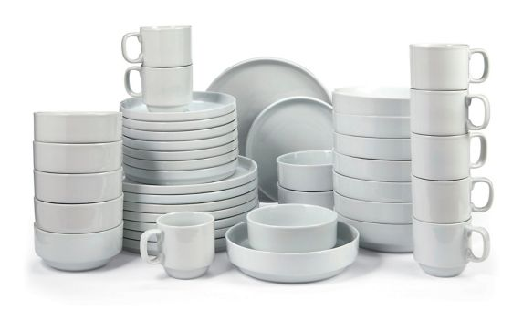 CANVAS Claremont Dinnerware Set with Dinner Bowl, 40-pc