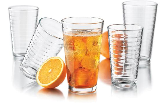 Libbey Hoops Glassware Set, 16-pc Product image