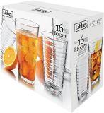 Libbey Hoops Glassware Set, 16-pc | Libbeynull