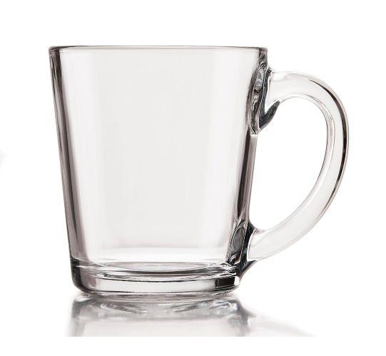 Tasses en verre Libbey, paq. 8