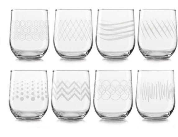 Libbey Stemless Wine Glass Set, 8-pk Product image