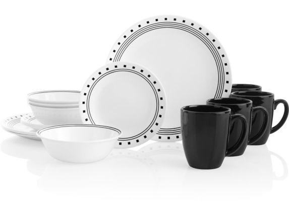 Corelle City Block Dinnerware Set, 16-pc Product image
