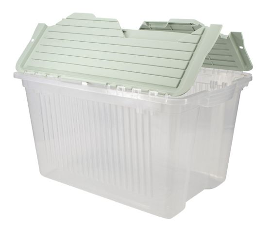 type A Flip Storage Container, Eucalyptus, 45-L Product image