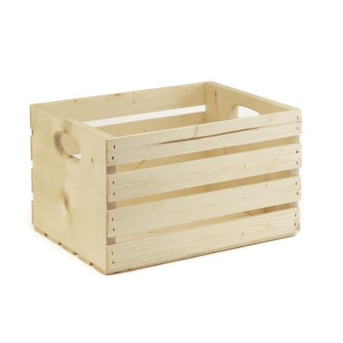 Wooden Storage Crate, 16-in Product image