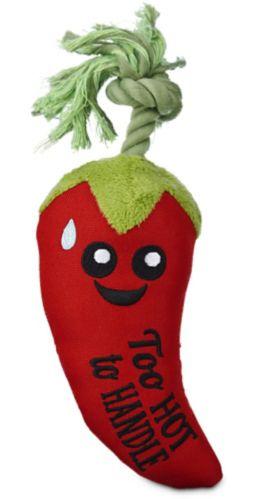 Petco Play Plush Chili Pepper Dog Toy