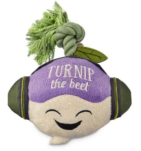 Petco Play Plush Turnip Dog Toy Product image
