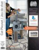 Cat Craft Cat Playset with Cardboard Scratcher, 45-in | Cat Craft | Canadian Tire