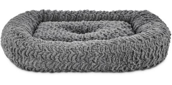 Petco Harmony Rectangle Cat Bed, Grey, 19-in x 16-in