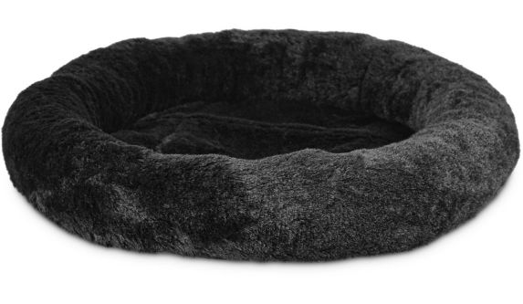 Petco Oval Cat Bed, Black, 17-in x 14-in Product image