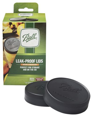 Ball® Regular Mouth Leak-Proof Storage Lids, 6-pk Product image