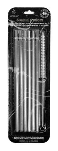 Manna Reusable Tritan Straw Set, 6-pc Product image