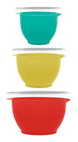 MASTER Chef Batter Bowl Set with Lids, 6-pc